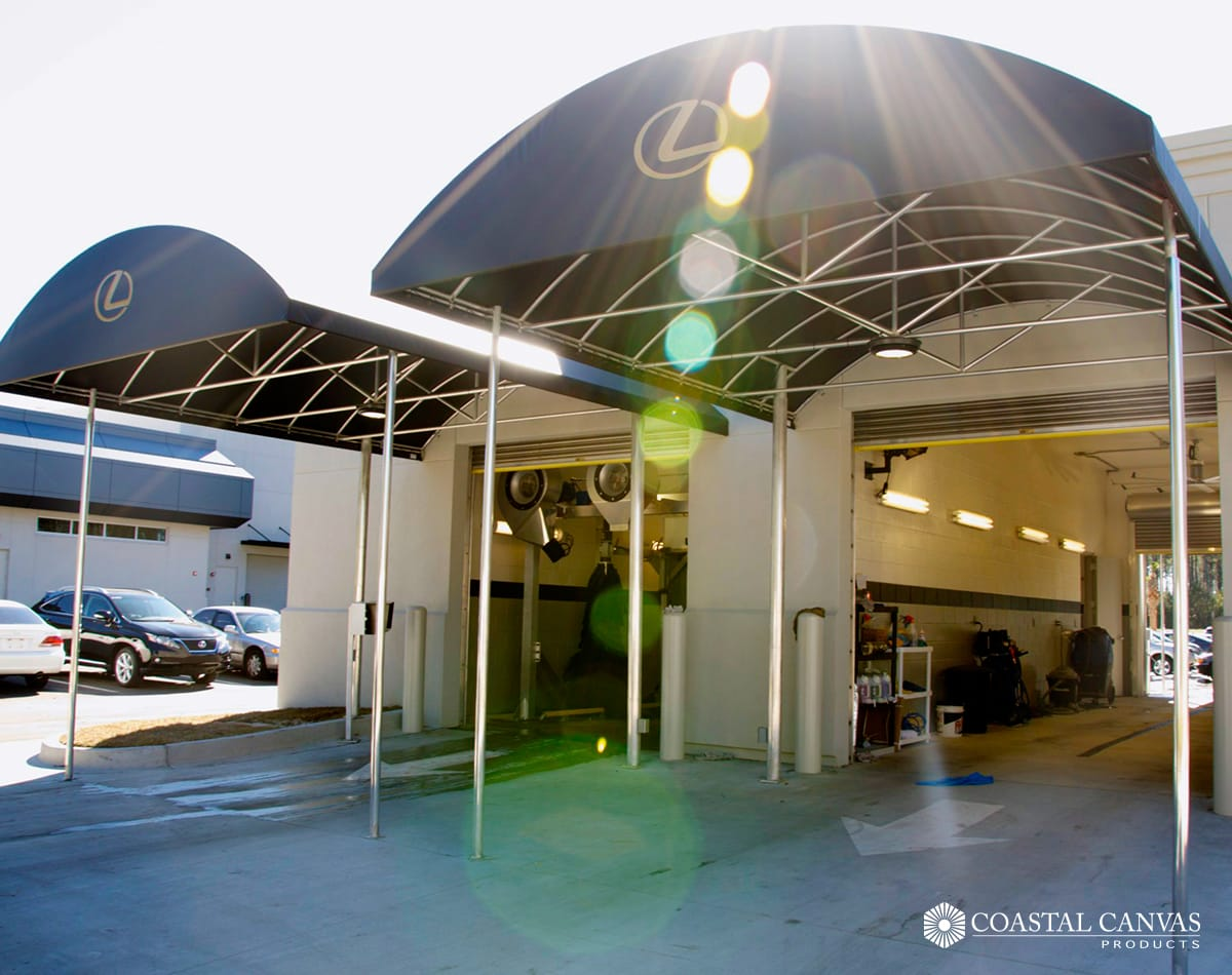 commercial awnings canopies