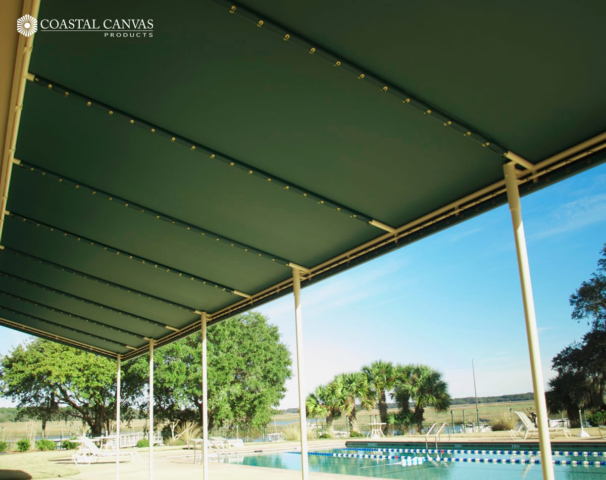 commercial metal canopies hilton head