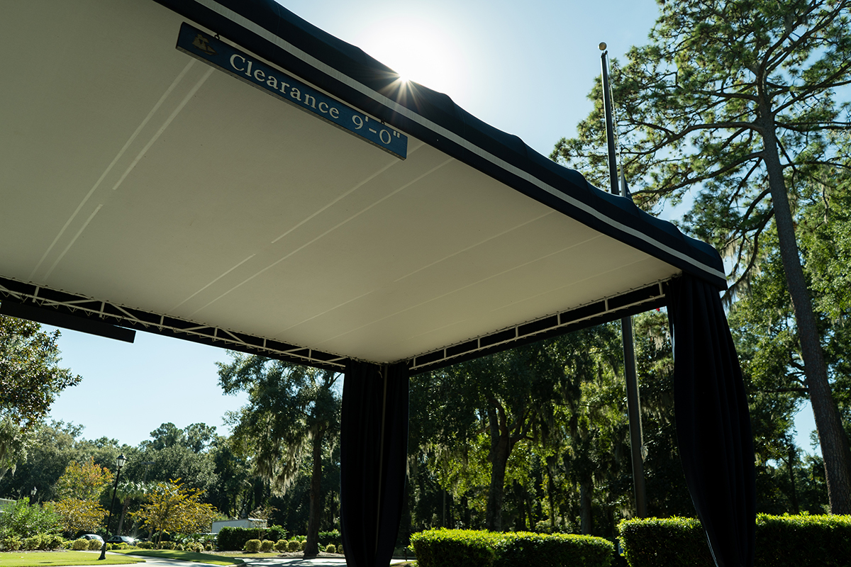 commercial shade sails st simons island