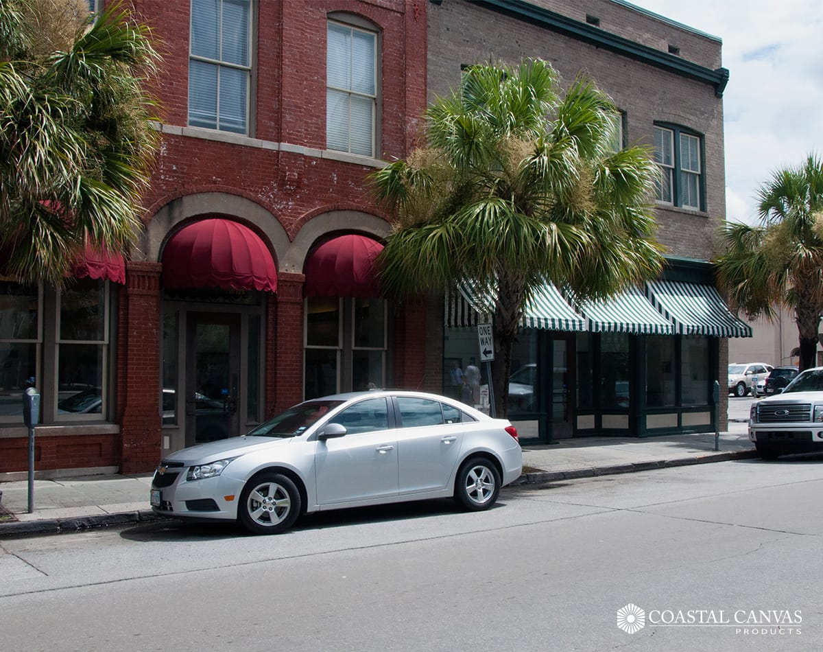 metal canopies savannah