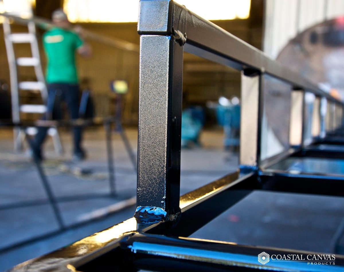 custom metal fabrication marine coating st simons island