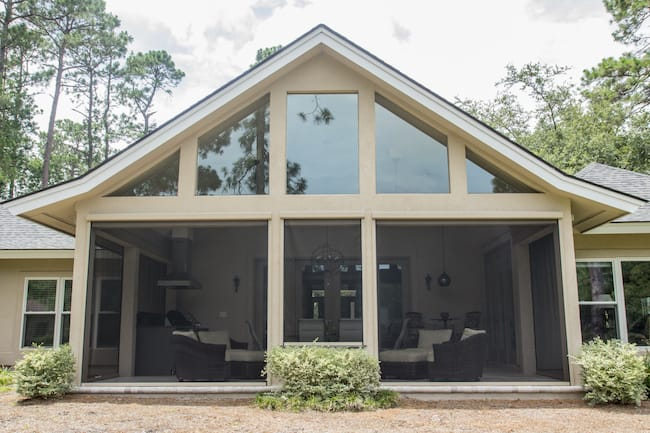 residential motorized screens savannah