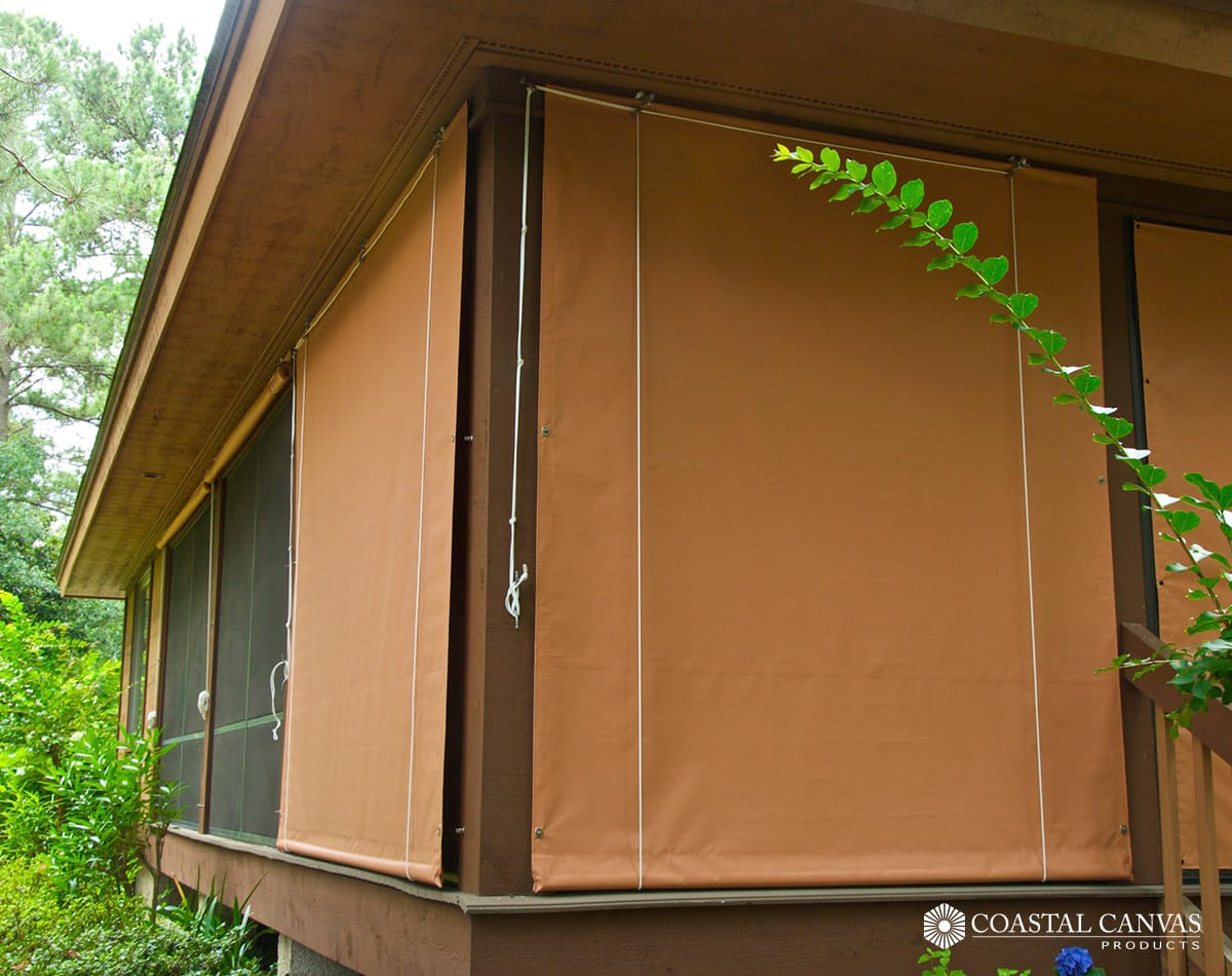 commercial porch curtains pooler
