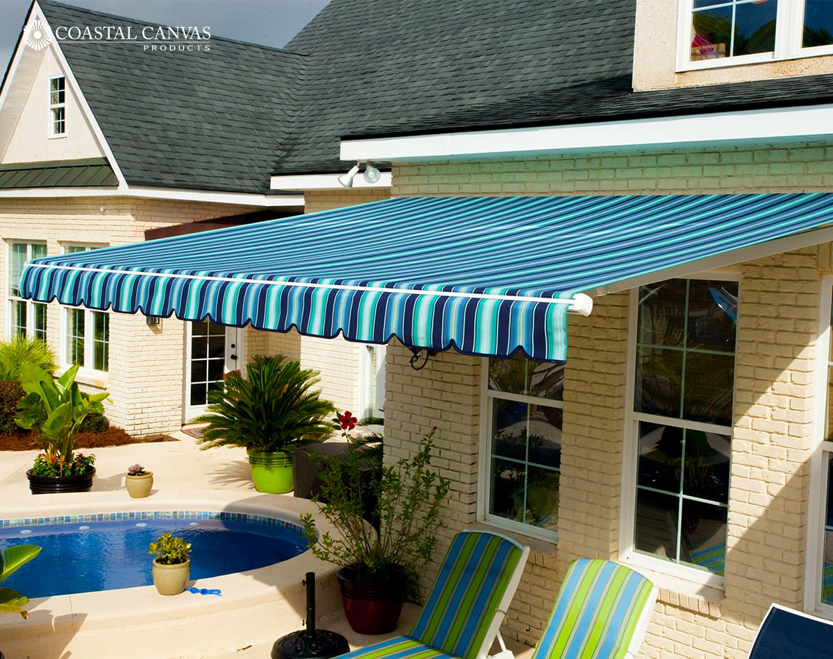 retractable awnings bluffton