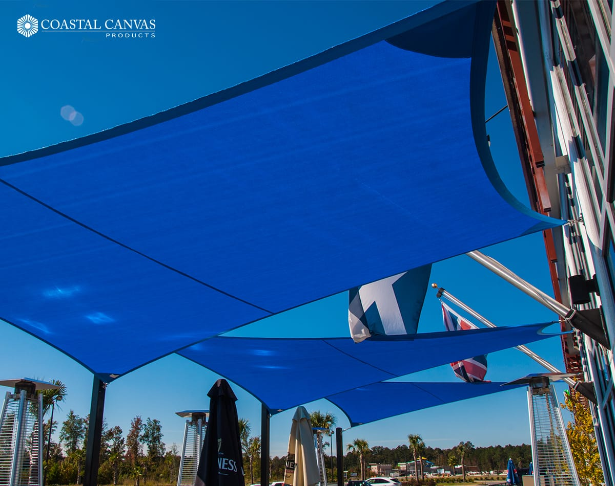 shade sails bluffton