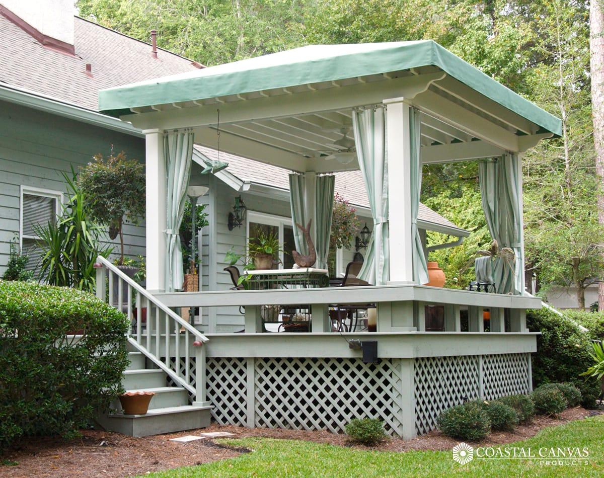umbrellas cabanas st simons island