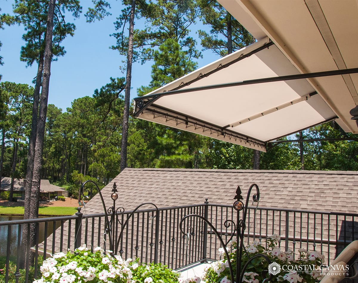 residential awnings saving energy sc