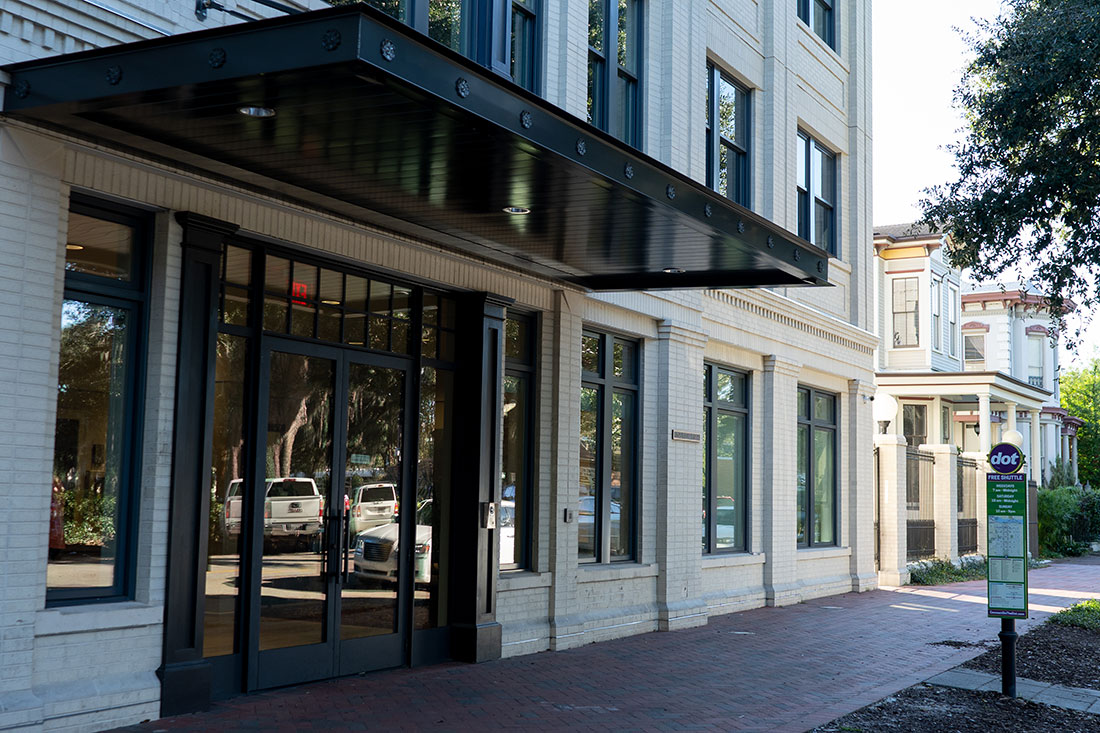 commercial awnings savannah