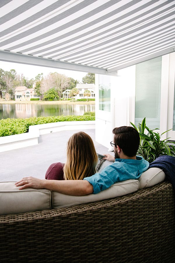residential motorized screens beaufort