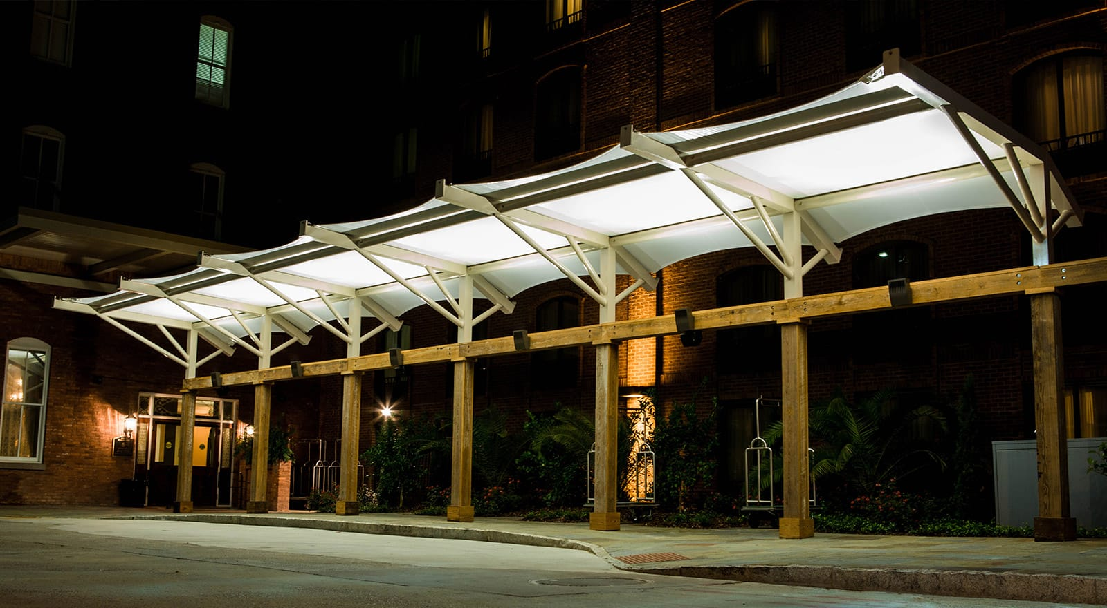 outdoor shade structures